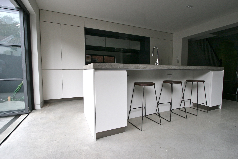 a photo of concrete floor
